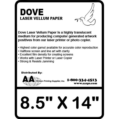 8 5 x 14 vellum paper for laser printer