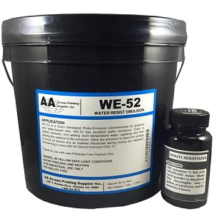 AA TEXTILE WE52 EMULSION
