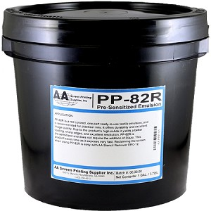 AA PP82R PRE-SENSITIZED EMULSION (RED COLOR)